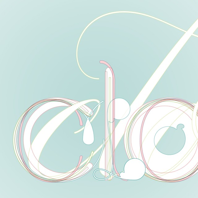 Detail of the Typographic Treatment for Cloud
